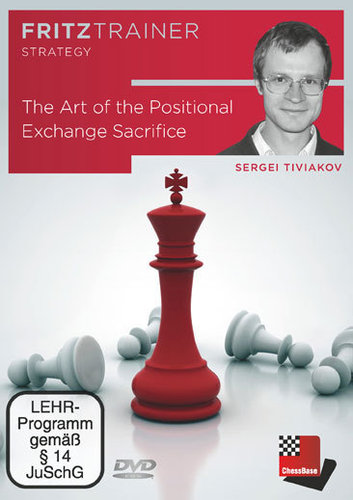 The Art of the Positional Exchange Sacrifice, (Tiviakov) DVD