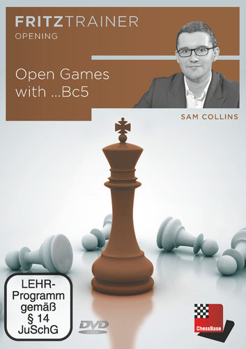 Open Games with ...Bc5, (Collins) DVD
