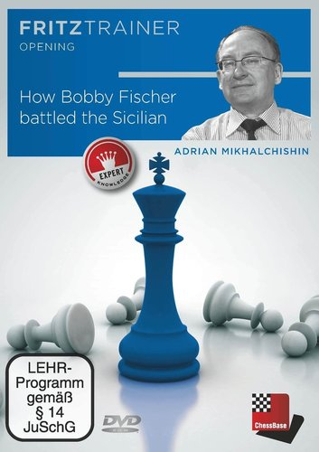 How Bobby Fischer battled the Sicilian, (Mikhalchinshin) DVD